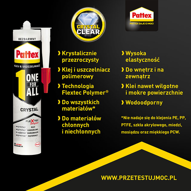 Pattex ONE FOR ALL Transparent i Express