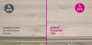 Podkład kwarcowy pod panele