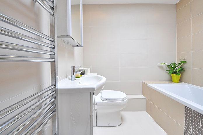 Łazienka praktyczna i estetyczna