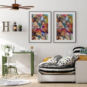 Jak wybrać plakat na ścianę sypialni