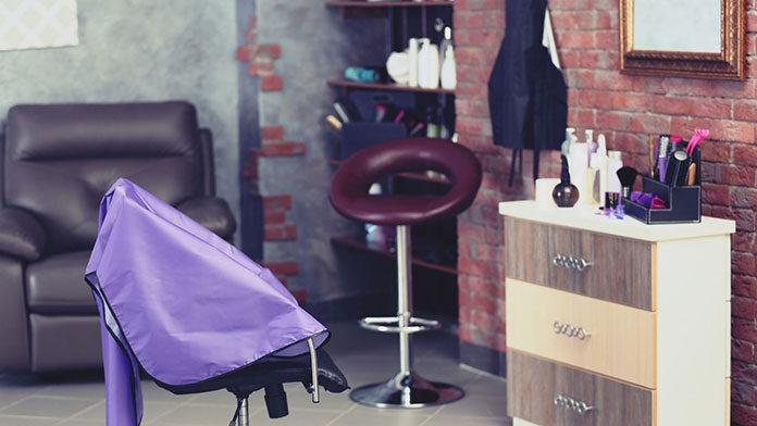 Meble fryzjerskie do poczekalni